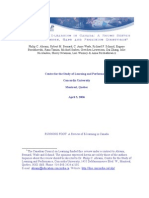 concordia study april 2006