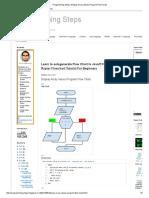 Programming Steps_ Display Array Values Program Flow Chart