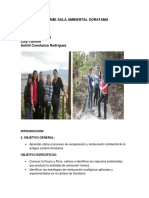 Informe Parque Soratama