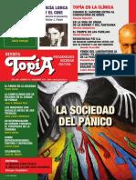 Revista Topia 78 La Sociedad Del Panico