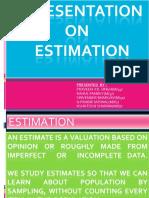 Quants Estimation