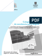 Colegios Publicos Excel en CIA Bogota