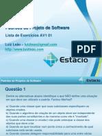 Lista_Exercicios_Padroes_Projetos_AV1 - 01.pdf