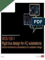 Prez_Rigid Bus Design for AC Substations