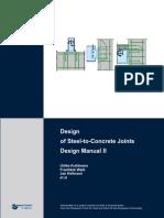 Steel to Concrete Joints Design-manual II En