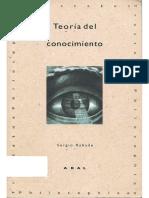 Rabade Romeo Sergio - Teoria Del Conocimiento.pdf
