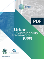 Urban Sustainability Framework