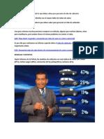 Informe Especial Robos