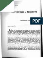 Arturo Escobar-Antropología y Desarrollo