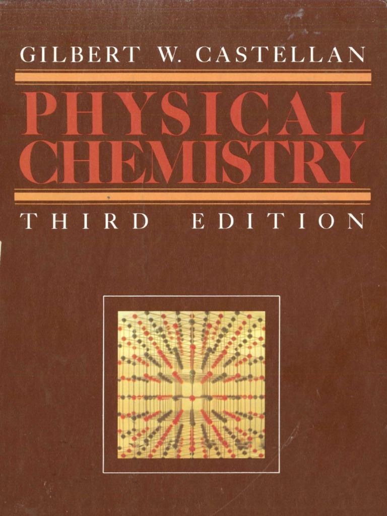 physical chemistry 3th castellan chemical equilibrium spectroscopy rh scribd com Chemistry Textbook Chemistry Panel