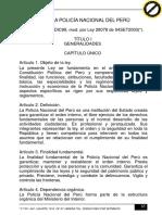 03. Ley de La Pnp y Art. 12 de Su Rgto.