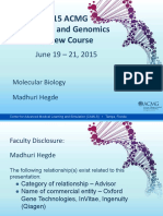 Clinical Molecular Genetics