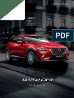 Mazda Cx-3 2017 Guia Rapida
