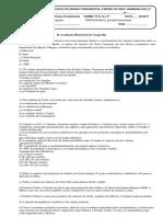 II avaliação de Geografia Bimestral SIMULADO 9º F.docx