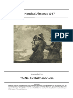 Almanak Nautika 2017