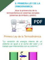 Unidad II. Primera Ley de La Termodinámica
