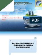Balance de Materia y Energia en Estado Estacionario