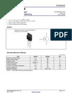 Renessas Datasheet RJP6065DPM
