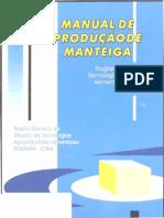 Manual de Producao de Manteiga