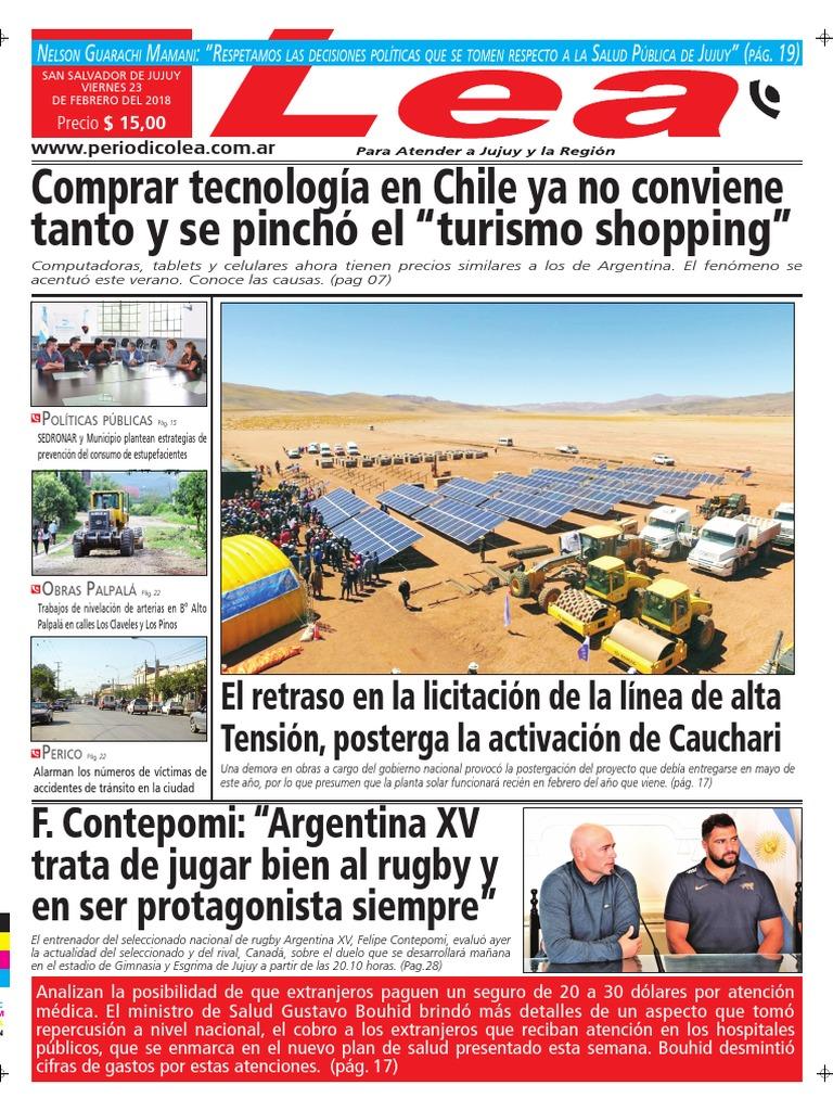 Periódico Lea Viernes 23 de Febrero Del 2018