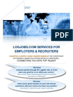 Logjobs Services Sales Brochure