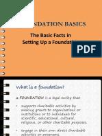 Foundation Basics