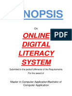 130-Digital Literacy Program -Synopsis