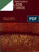 Diagnostico y Reabilitacion de Suelos Salinos y Sodicos