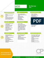 Excel Nivel Básico- 16 Horas - OP Capacitaciones