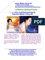 E-Book of Supreme Master Ching Hai's Secrets to Effortless Spiritual Practice