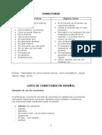 Conectores en Español
