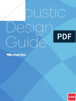Martini Acoustic Design Guide Bradford