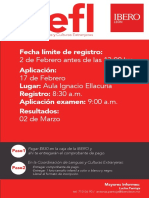 Promocion-ToEFL-P18 Ibero Antes 2 Feb Aplic 17 Feb