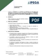 IPEGA.- Hoja Informativa Programa Tecnico Instalador de Gas Natural - INSL0318