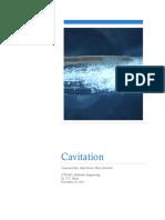5 - Cavitation