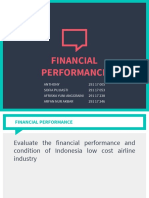 Syndicate 10 - Business Strategy - Financial Performance