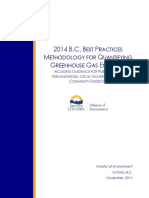 2014 Best Practices Methodology for Quantifying Greenhouse Gas Emissions