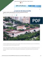 PF investiga furto de mais de 400 obras da UFRJ - Notícias - Notícias - Band.com.br