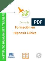 Curso de Formacion en Hipnosis Clinica