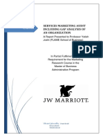J W Marriott report on & 7Ps in marketing