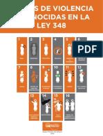 1 Cartilla 16 Formas de Violencia Reconocidas en La Ley 348 ONU Mujeres