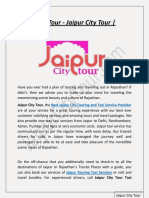Taxi Service in Jaipur | Jaipur City Tour | Rajasthan Tour Packages