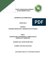 sistemas hidráulicos y neumática de potencia Unidad 1