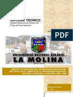 Informe Tecnico de estudio de suelos sector II.docx