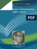 Héctor Incháustegui Cabral - De literatura dominicana siglo veinte.pdf