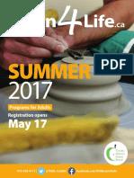 l 4 l Summer 2017 Brochure