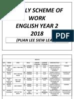 Yearly Scheme of Work Week 36-40