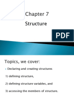 chapter 7- structure