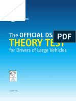 The Official DSA Theory Test for Drivers of Large Vehicles Opt