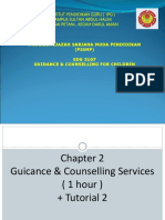 Topic 2 Guidance & Counselling Services